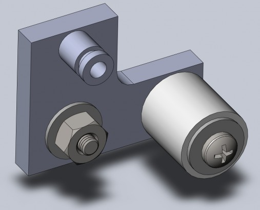 belt tensioner Solidworks