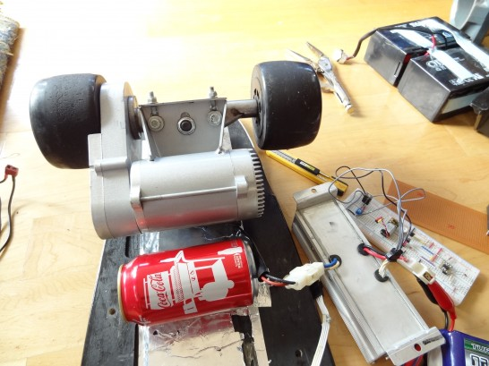 electric skateboard motor size comparaison